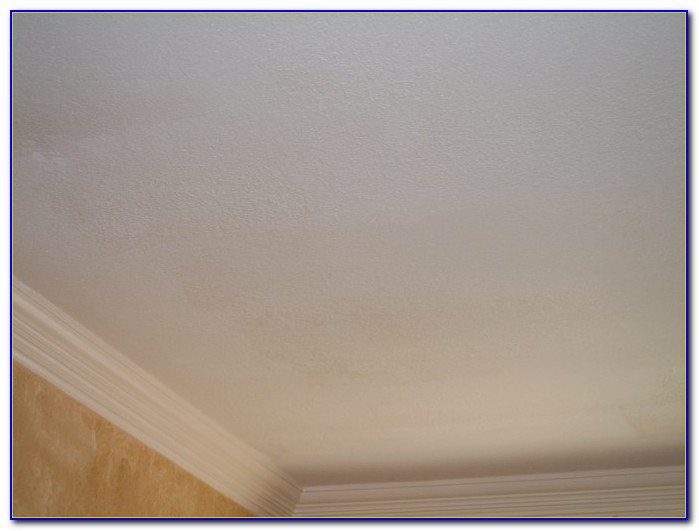 Knock Down Ceiling Over Popcorn