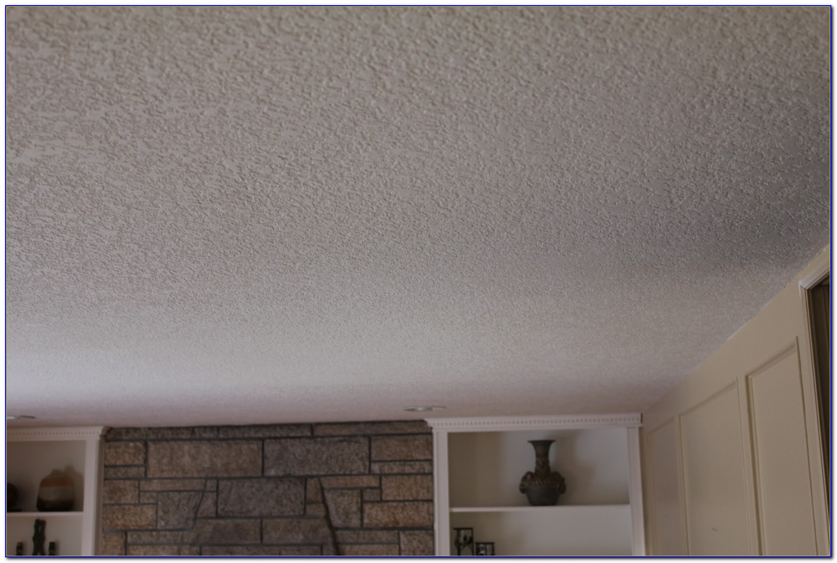 Knockdown Vs Popcorn Ceiling