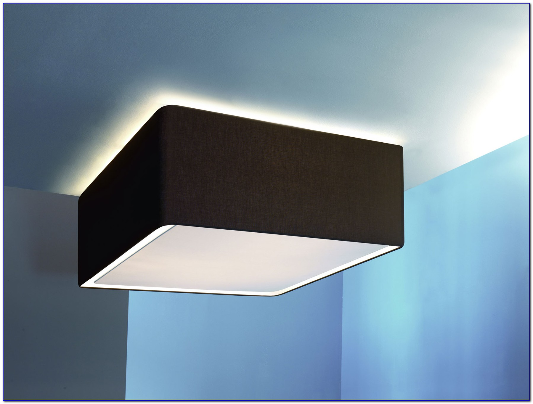Large Square Ceiling Light Fixture