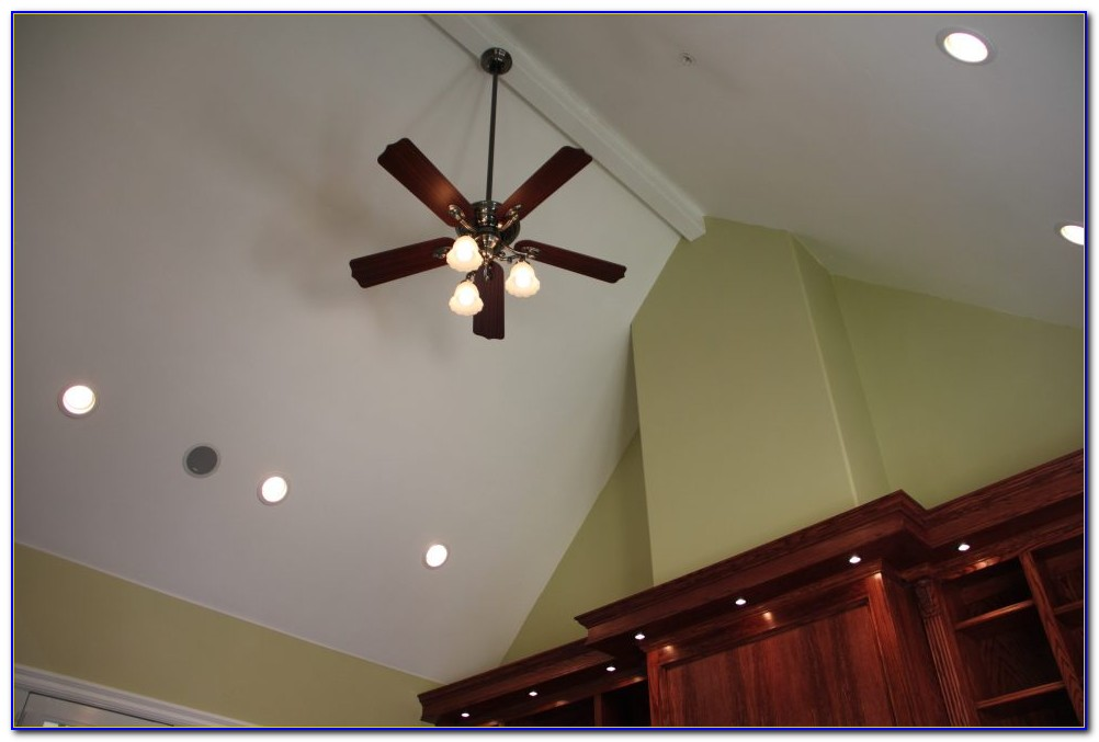 Led Can Lights Sloped Ceiling