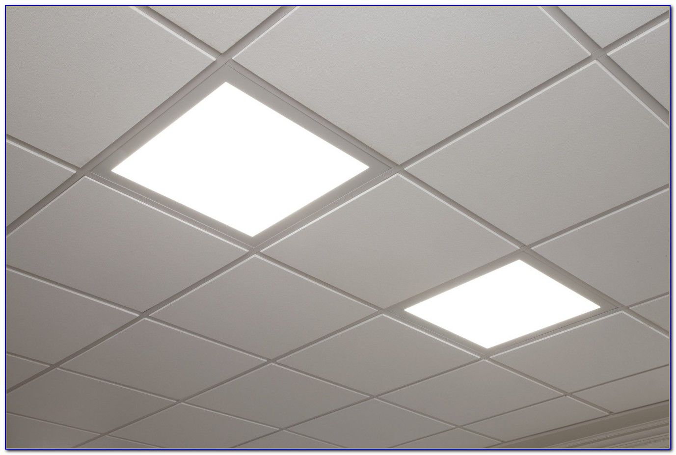 Led Ceiling Grid Light Fixtures