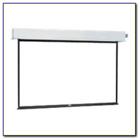 Manual Ceiling Recessed Projector Screen