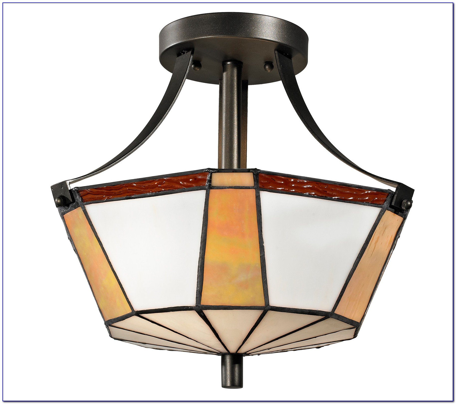 Meyda Tiffany Flush Mount Ceiling Light