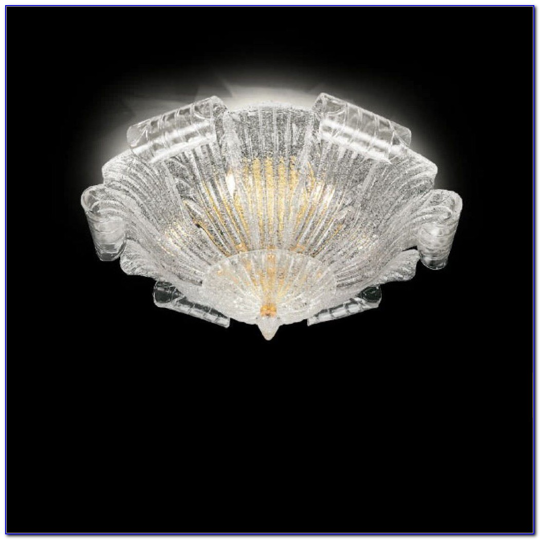 Murano Glass Pendant Lighting Fixtures