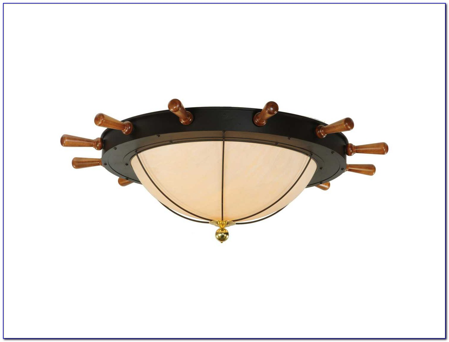 Nautical Flush Mount Ceiling Lights