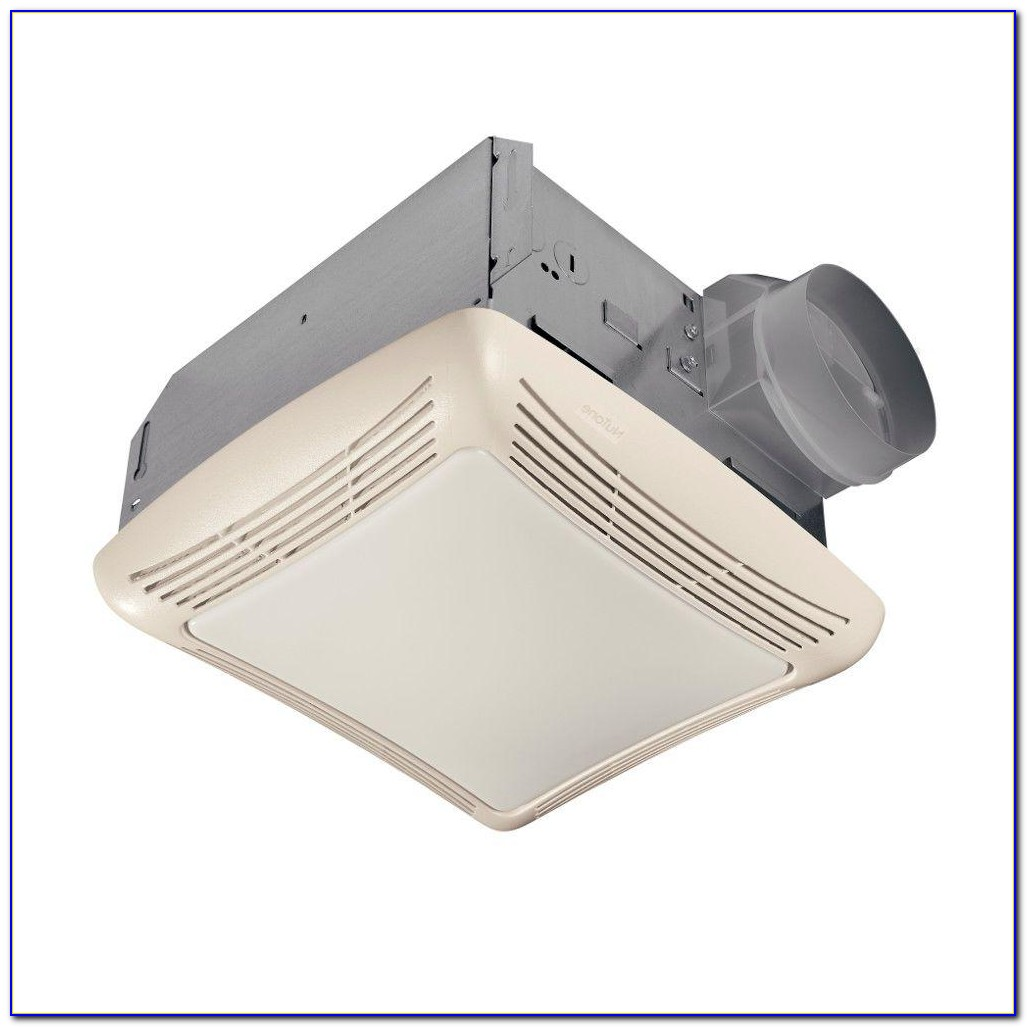 Nutone Ceiling Exhaust Fan With Light And Heater