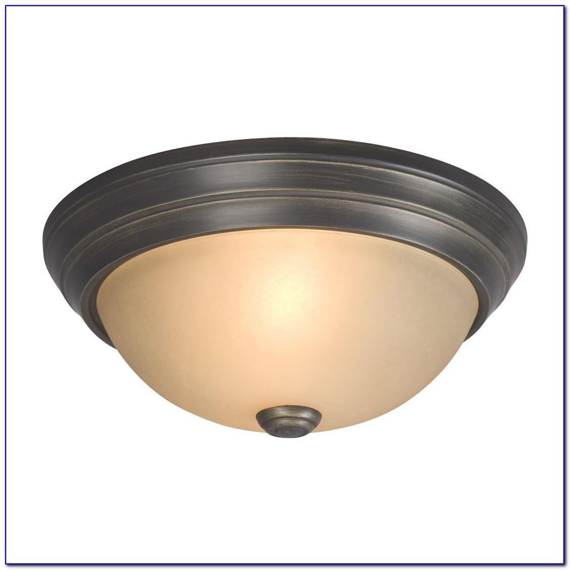 Oil Rubbed Bronze Flush Mount Ceiling Light