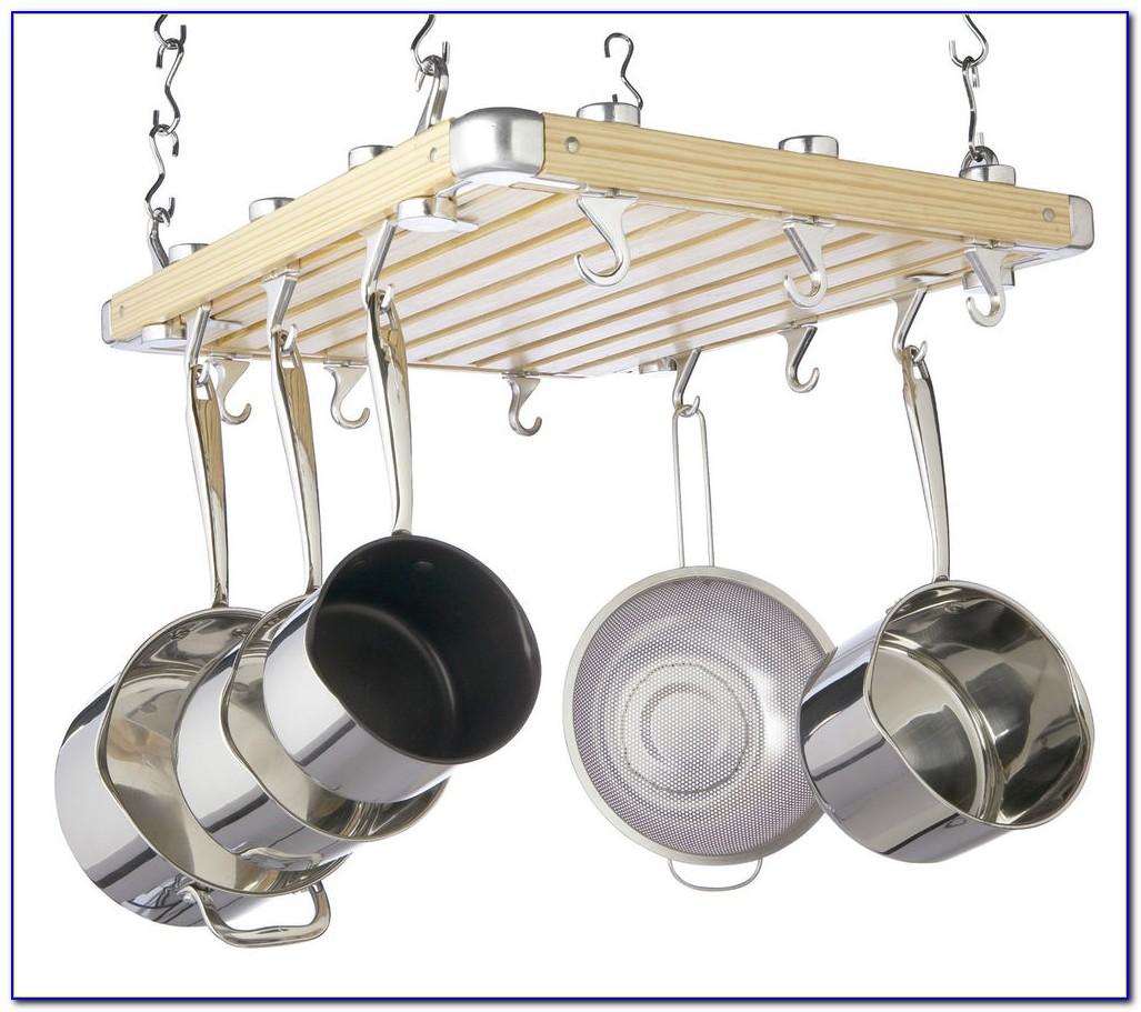 Pot And Pan Ceiling Rack
