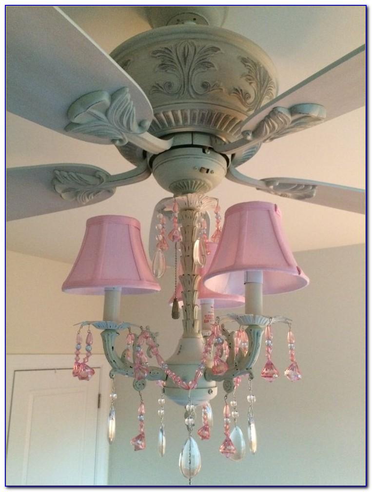 Princess Chandelier Ceiling Fan