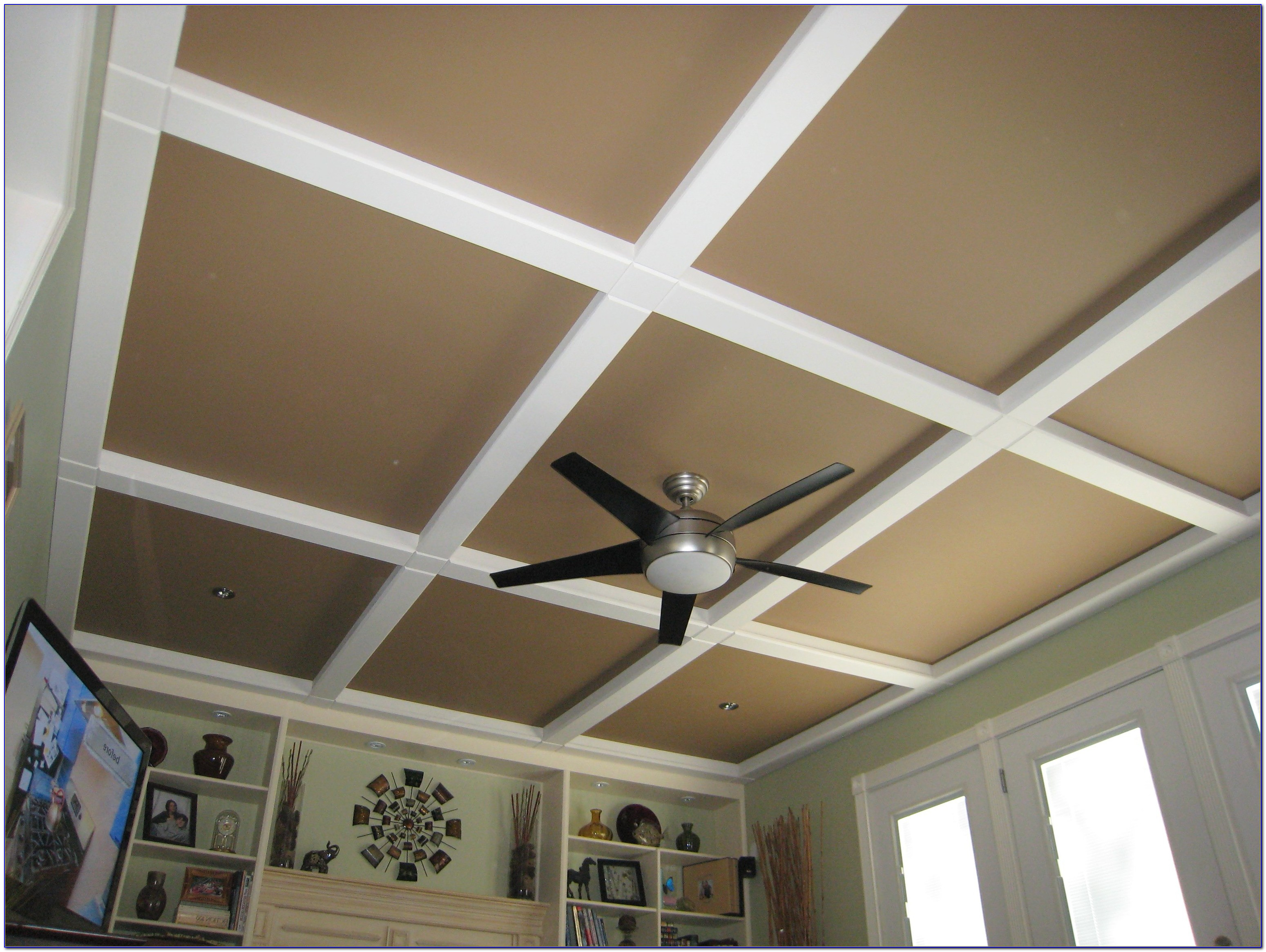 Putting Ceiling Tiles Over Popcorn Ceiling