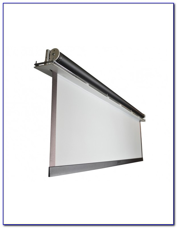 Recessed Ceiling Projection Screen