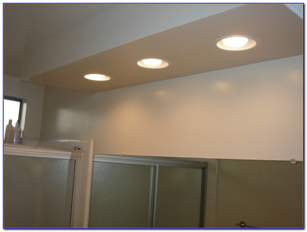Recessed Lighting Drop Ceiling In Basement