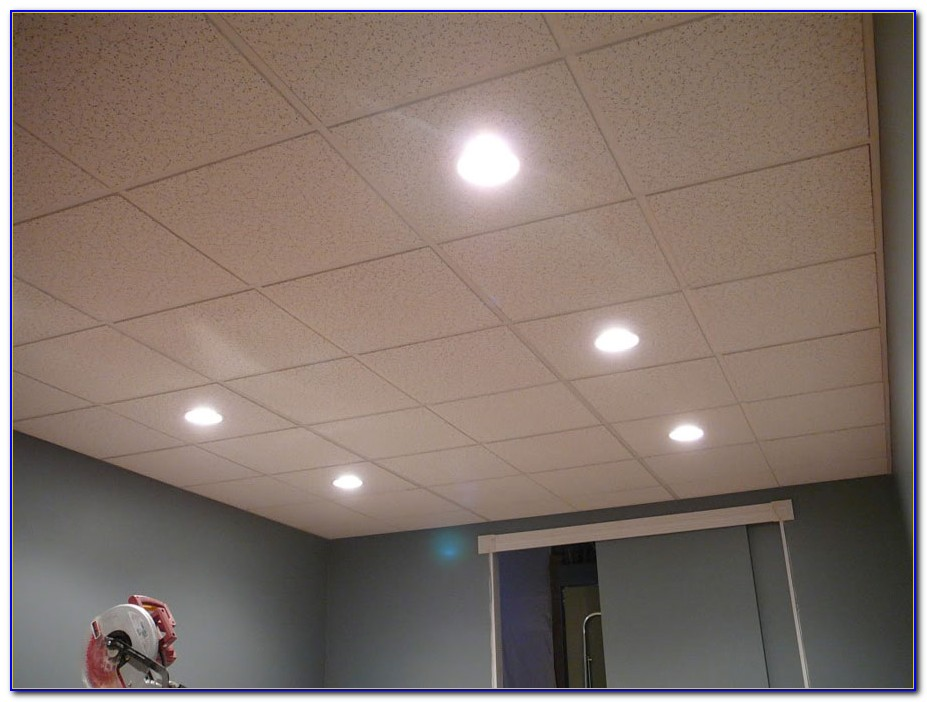 Recessed Lighting In Basement Drop Ceiling