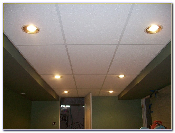Recessed Lighting In Drop Ceilings
