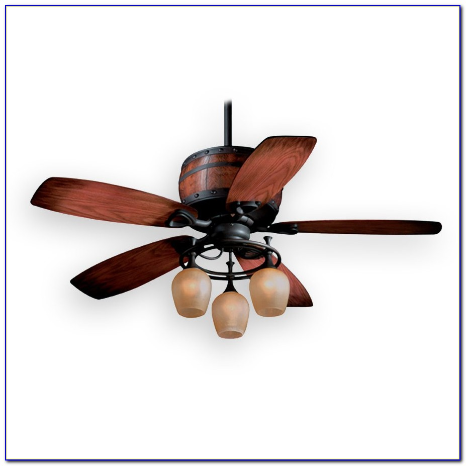 Rustic Ceiling Fans Flush Mount