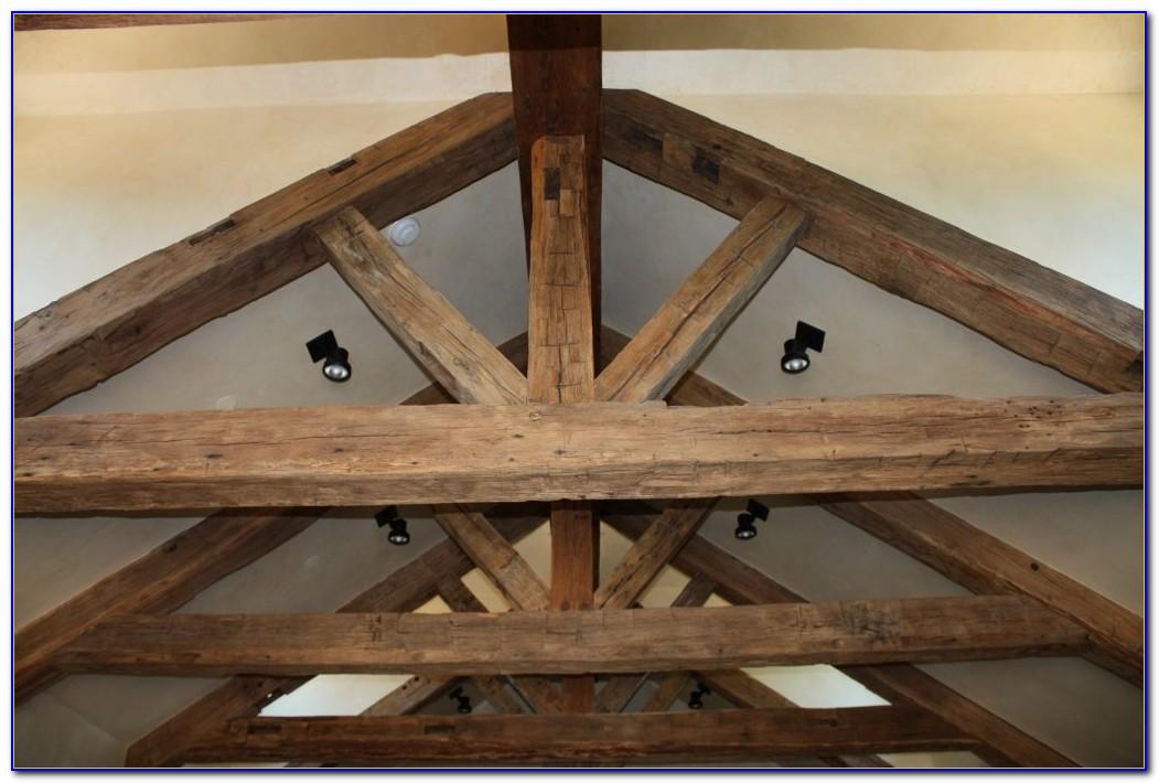 Rustic Wood Ceiling Beams