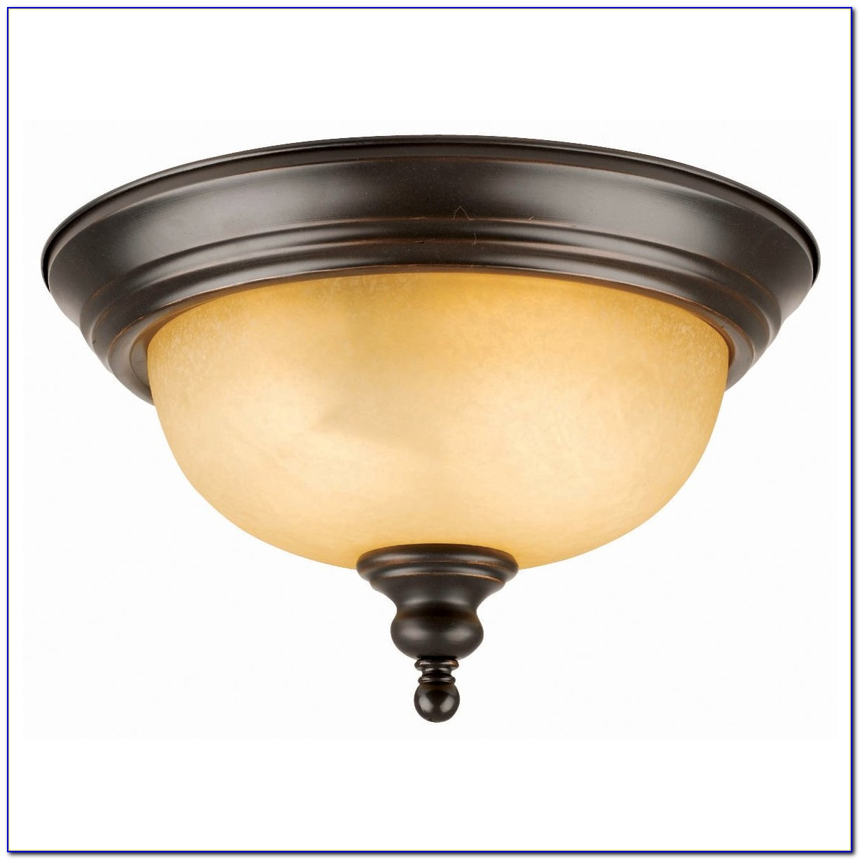 Semi Flush Mount Ceiling Light Oil Rubbed Bronze