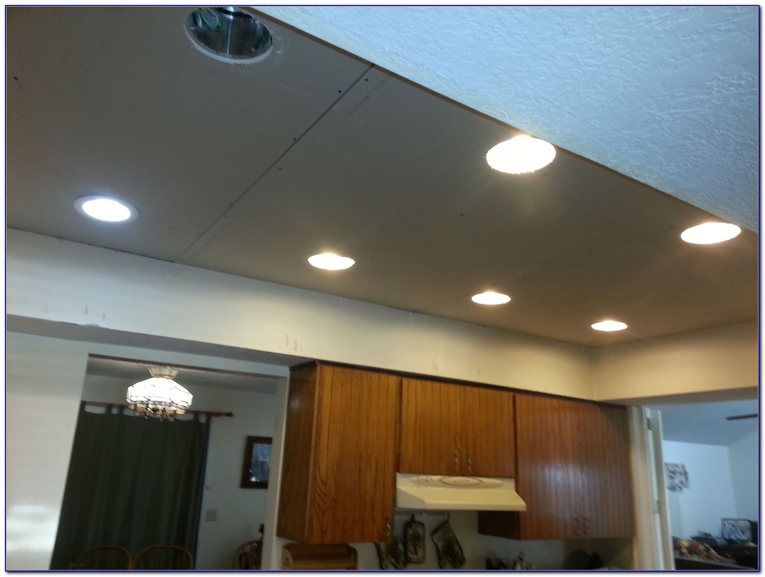 Shallow Recessed Light For 2x4 Ceiling