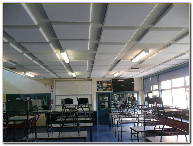 Sound Dampening Acoustic Ceiling Tiles
