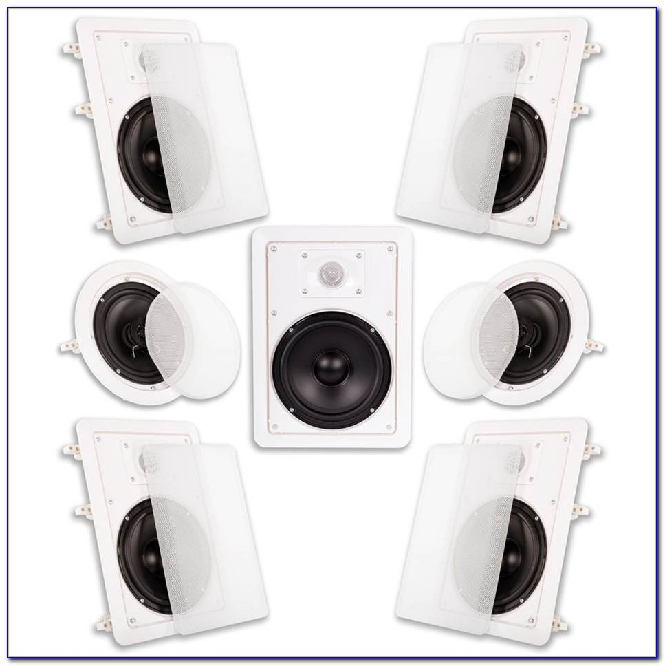 Surround Sound Speakers In Ceiling Or Wall