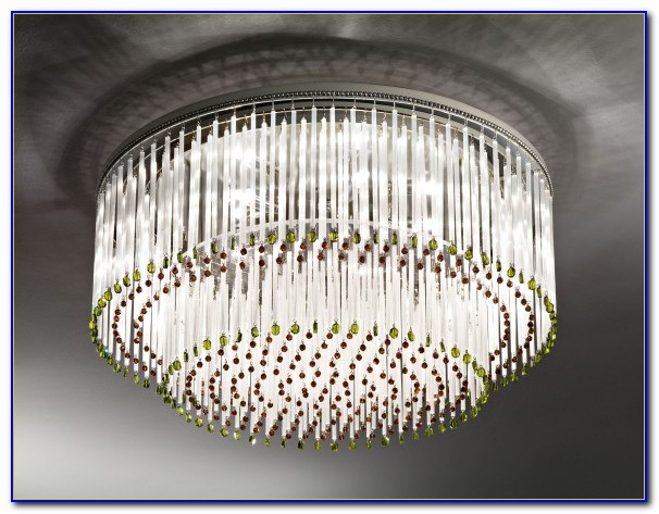 Swarovski Crystal Chandelier Ceiling Light