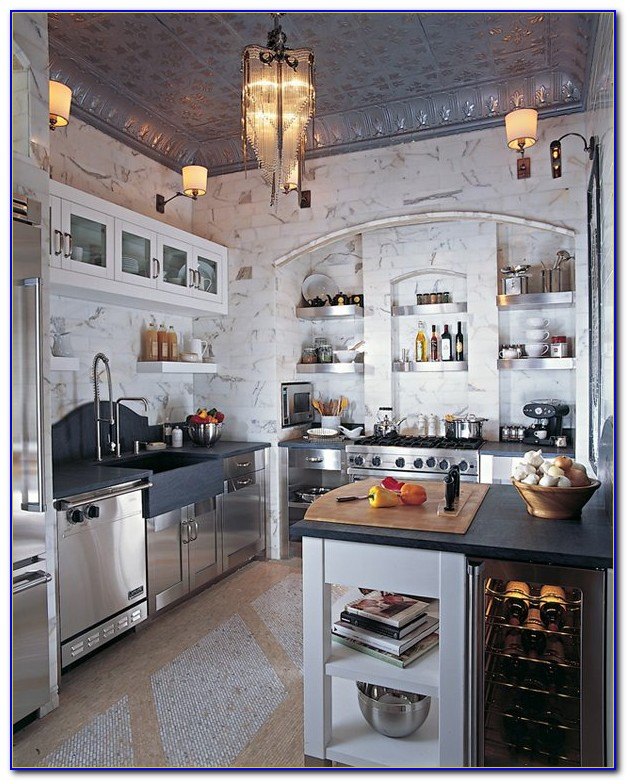 Tin Ceilings In Kitchens