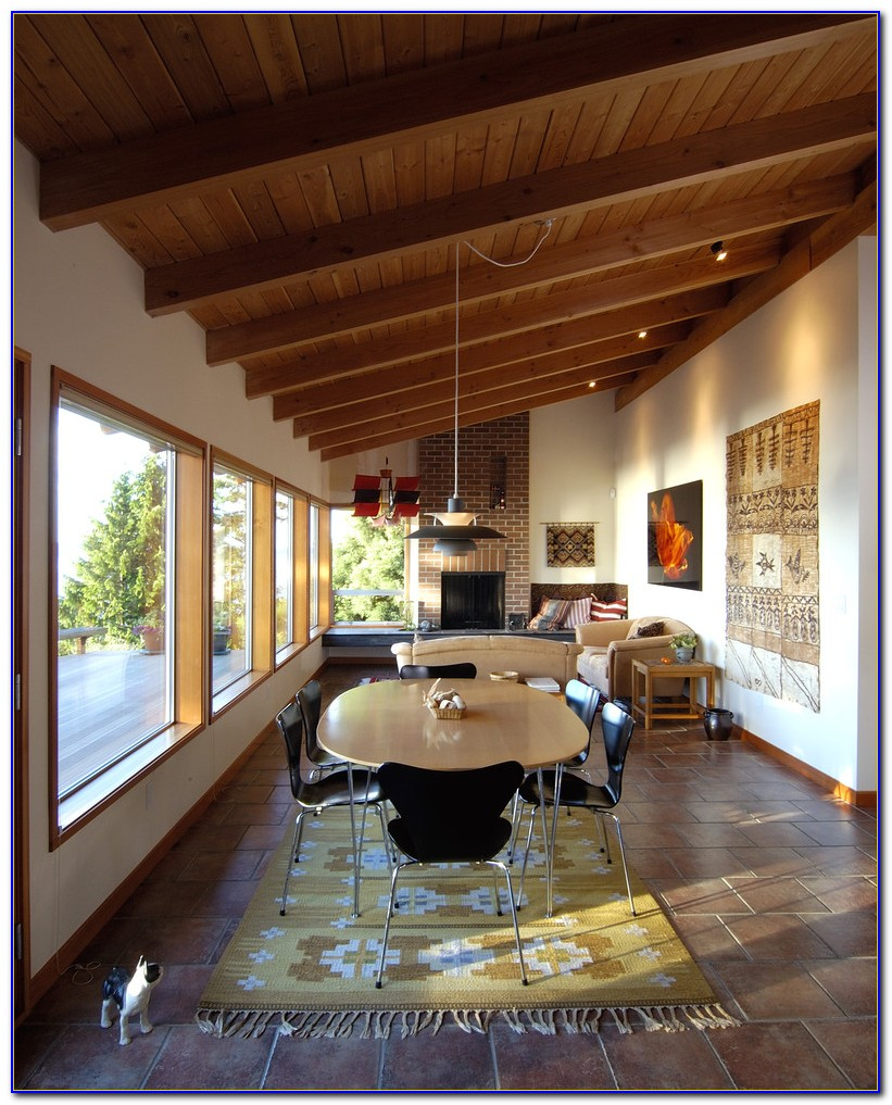 Tongue And Groove Pine Ceiling Exterior