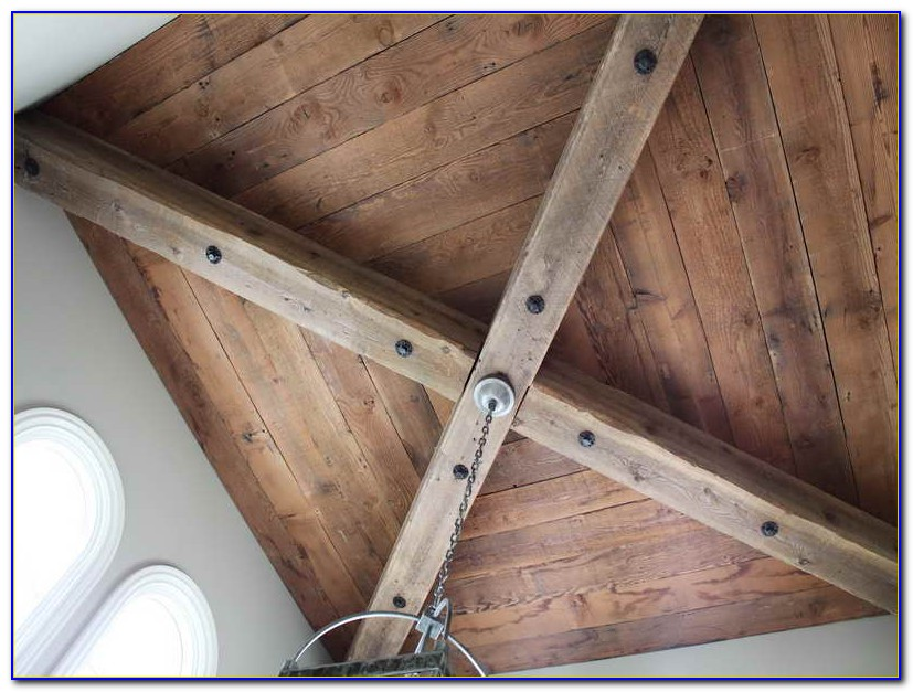 Using Wood Planks For Ceiling
