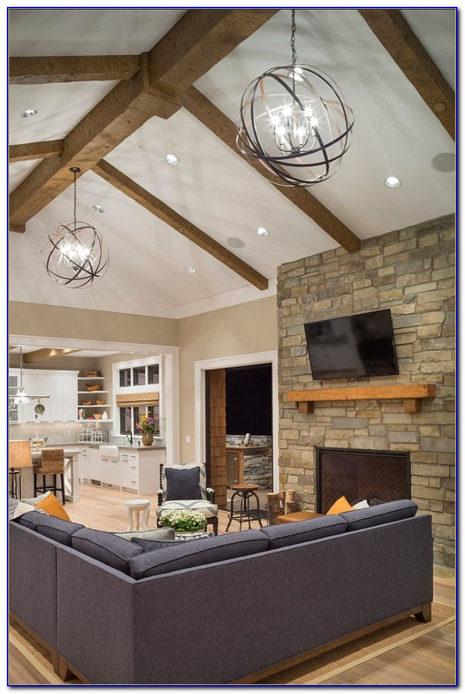 Vaulted Ceiling Light Fixtures