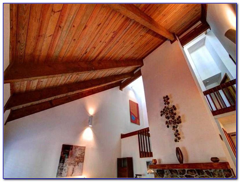Vaulted Ceiling Wood Beams