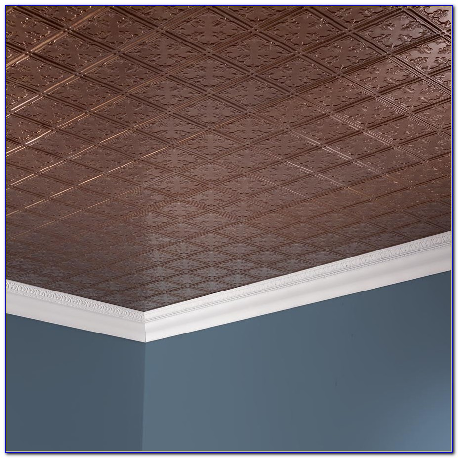 Vinyl Coated 2x4 Ceiling Tiles