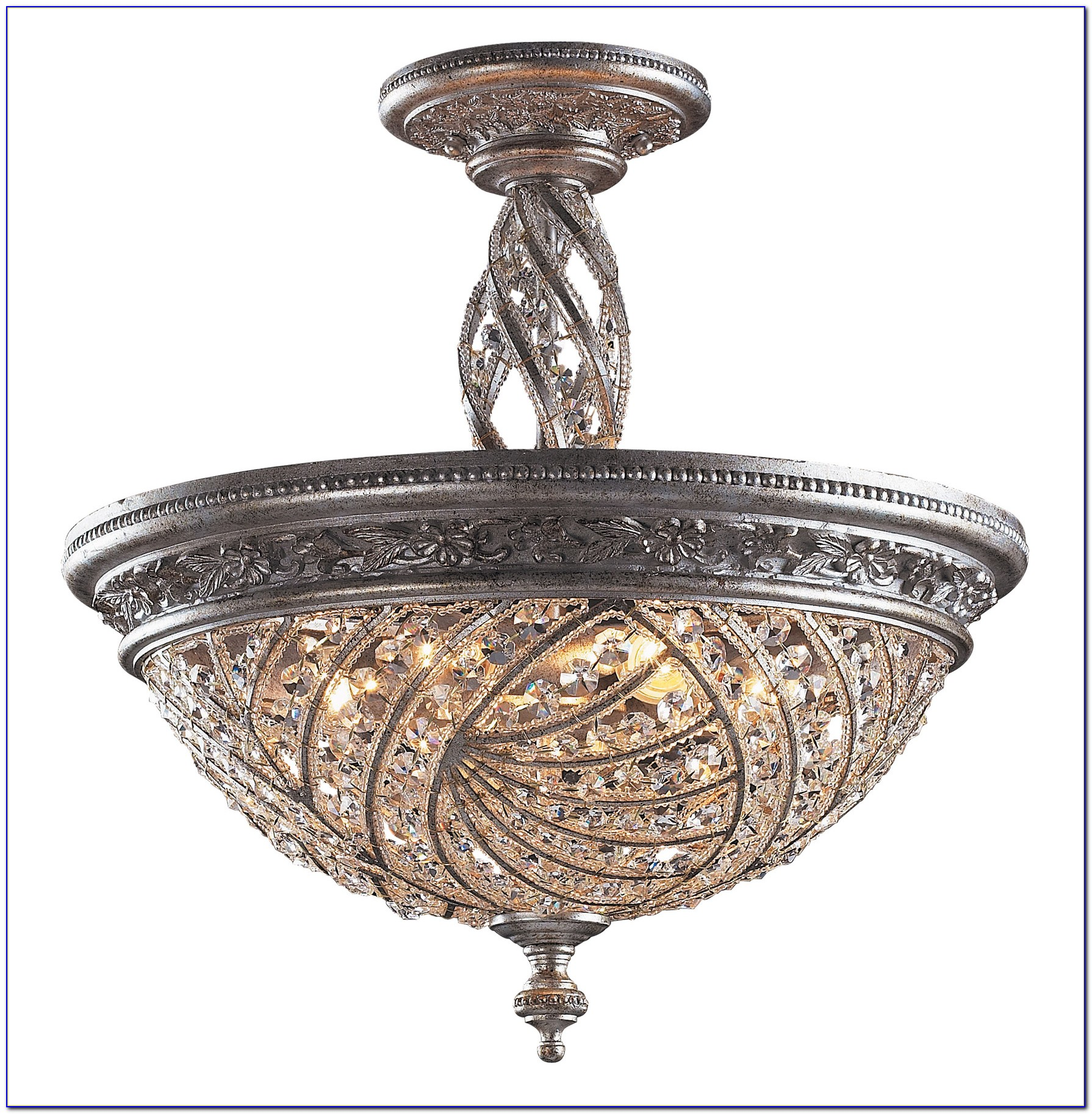Waterford Crystal Ceiling Light Fixture