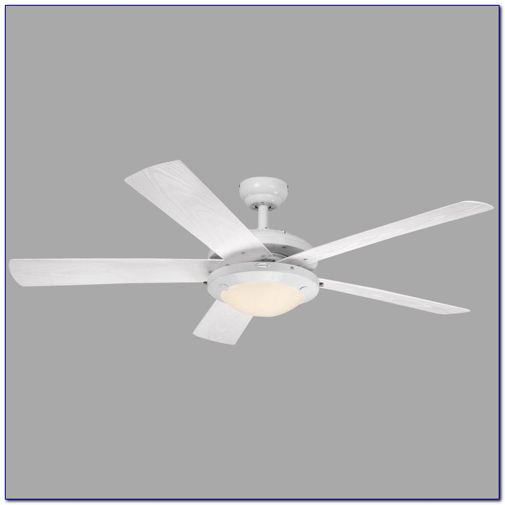 Westinghouse Wengue 30 In. White Ceiling Fan