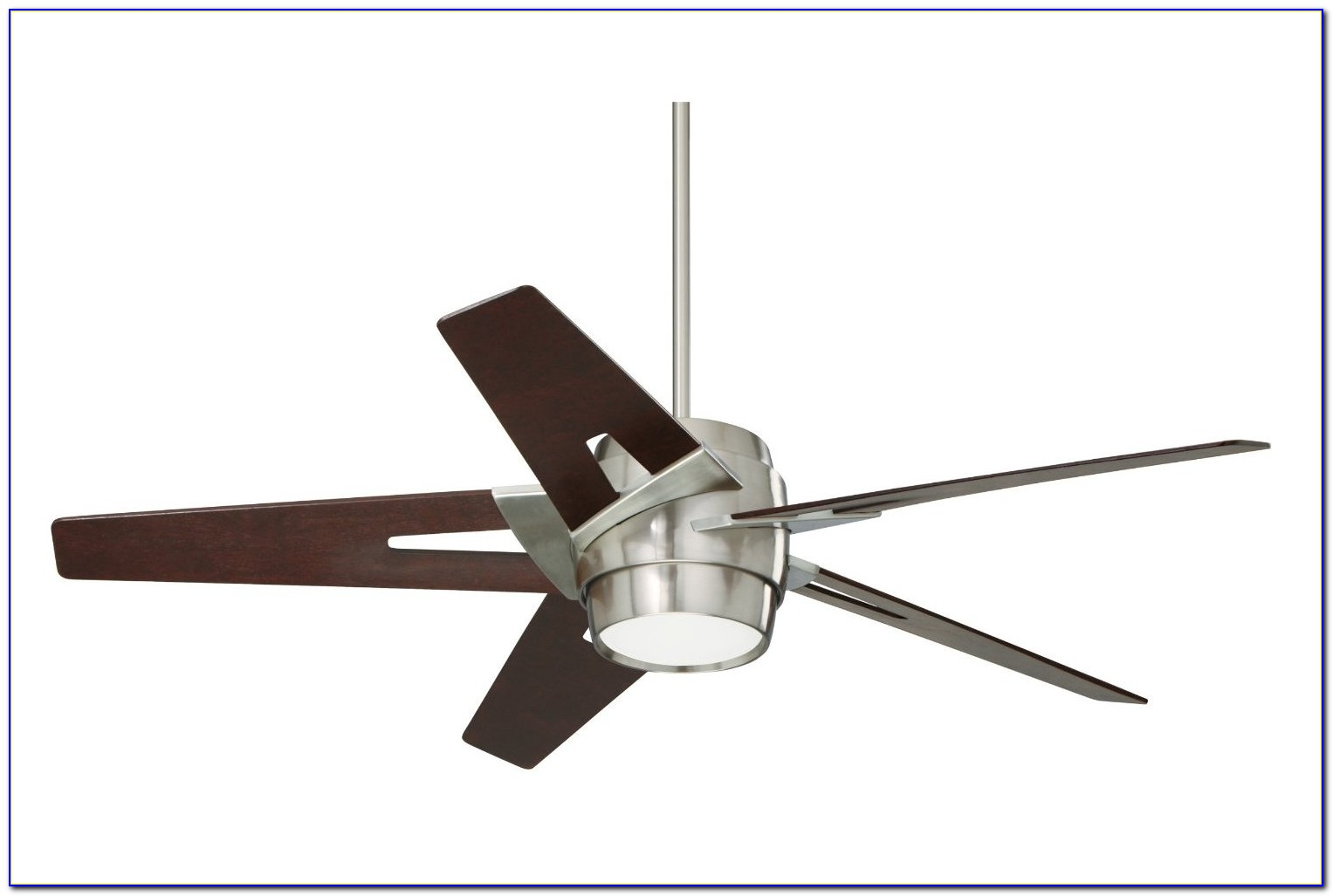 White Ceiling Fan With Spotlights
