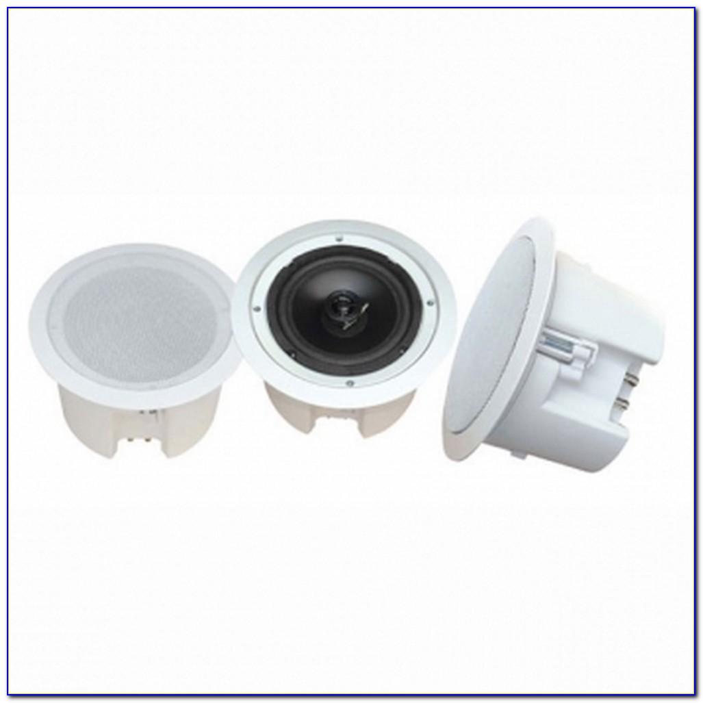 White Flush Mount Ceiling Speakers