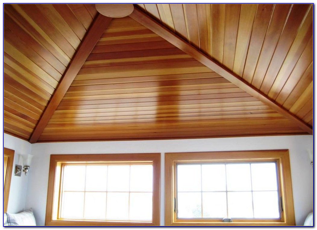White Wood Planks For Ceiling