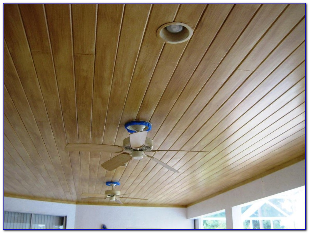 Wood Paneling For Porch Ceiling