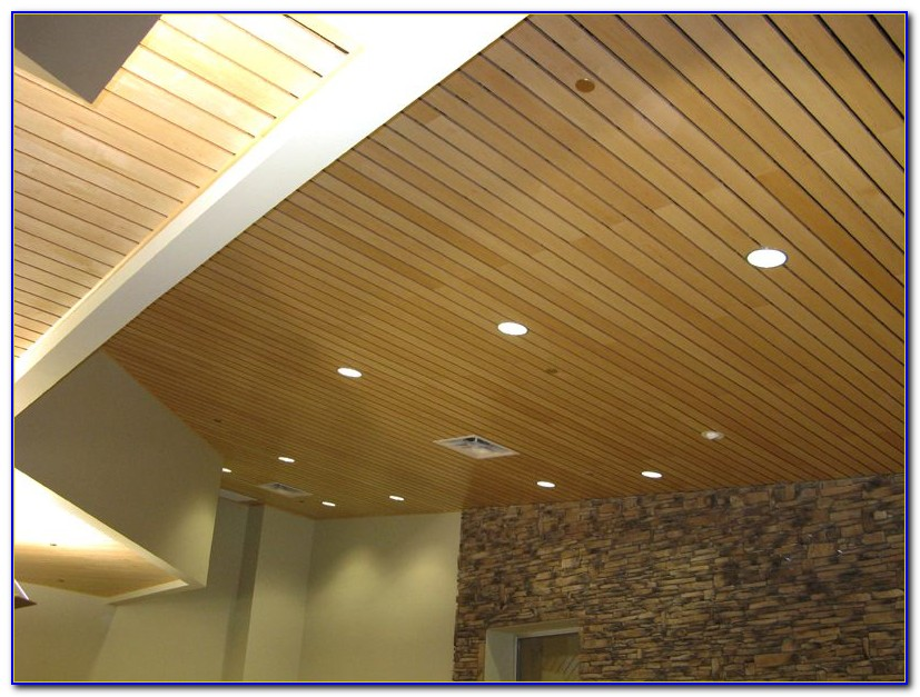 Wood Paneling For Vaulted Ceiling