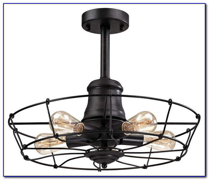 Wrought Iron Ceiling Light Fixture