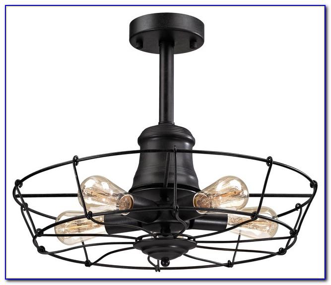 Wrought Iron Ceiling Light Fixture