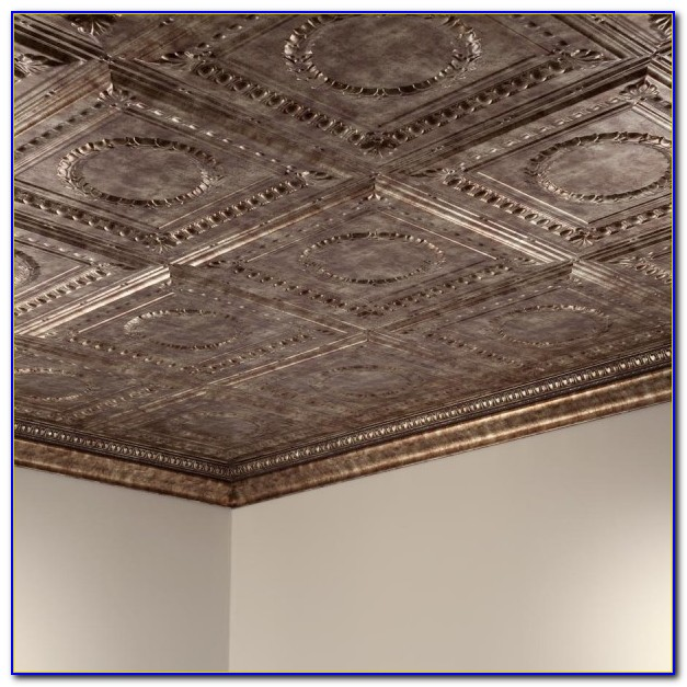 2x4 Faux Tin Ceiling Tiles