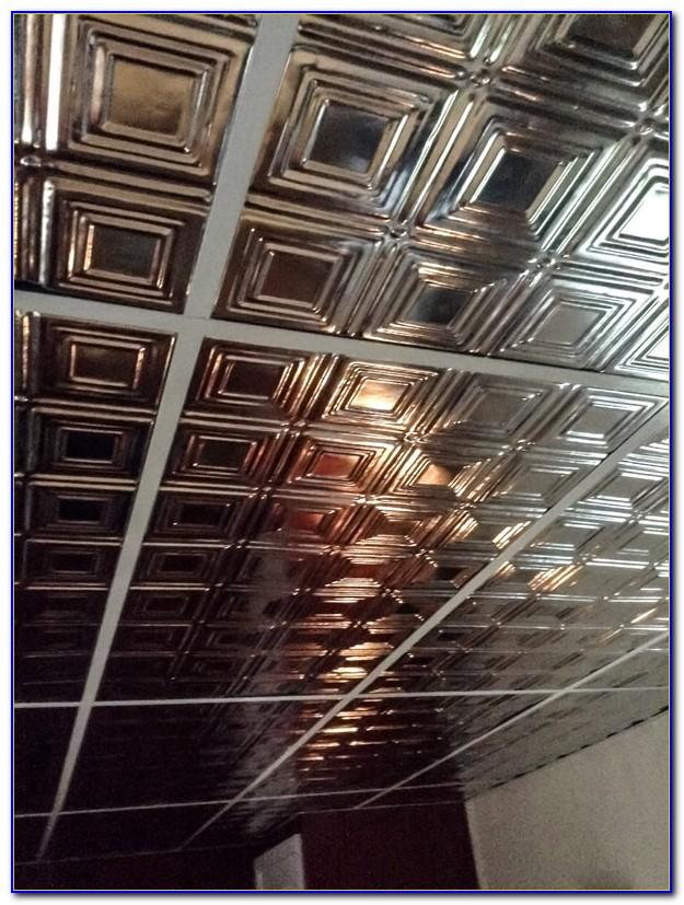 2x4 Tin Ceiling Panels