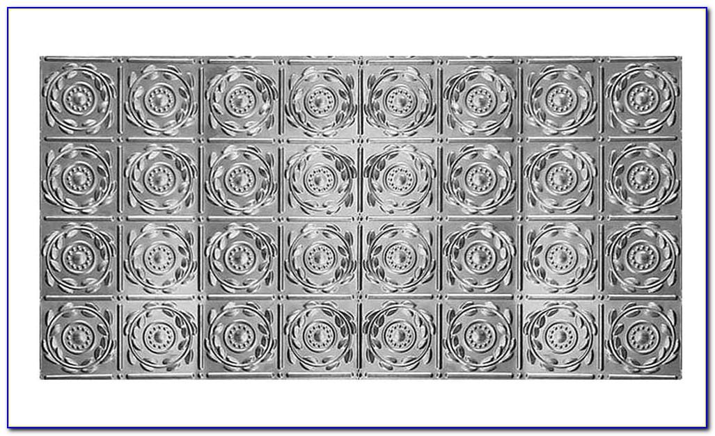 2x4 Tin Look Ceiling Tiles