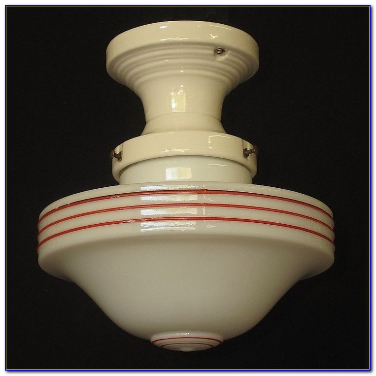 Antique Porcelain Ceiling Light Fixtures