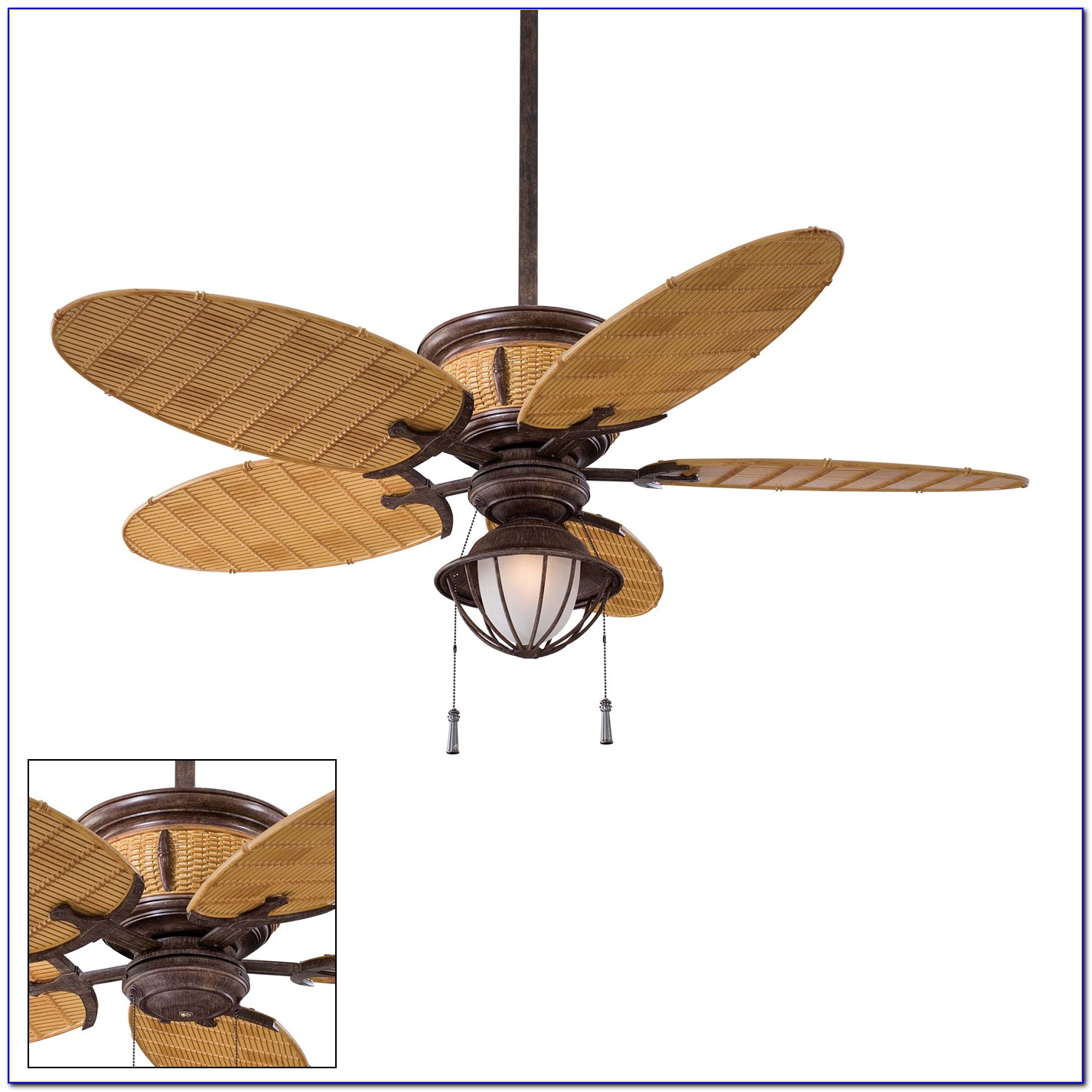 Bamboo Ceiling Fans With Lights