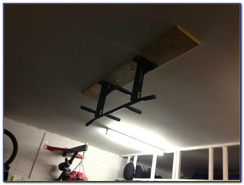 Build Pull Up Bar Basement Ceiling