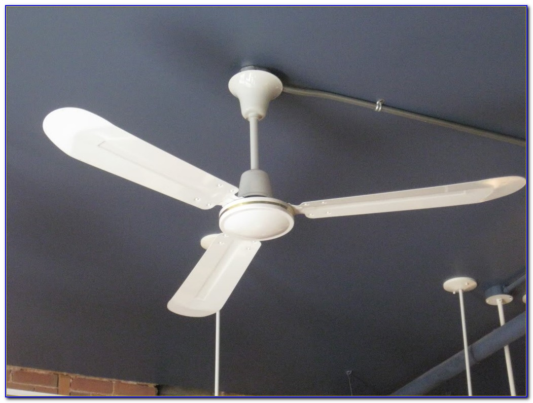 Canarm Industrial Ceiling Fan Installation