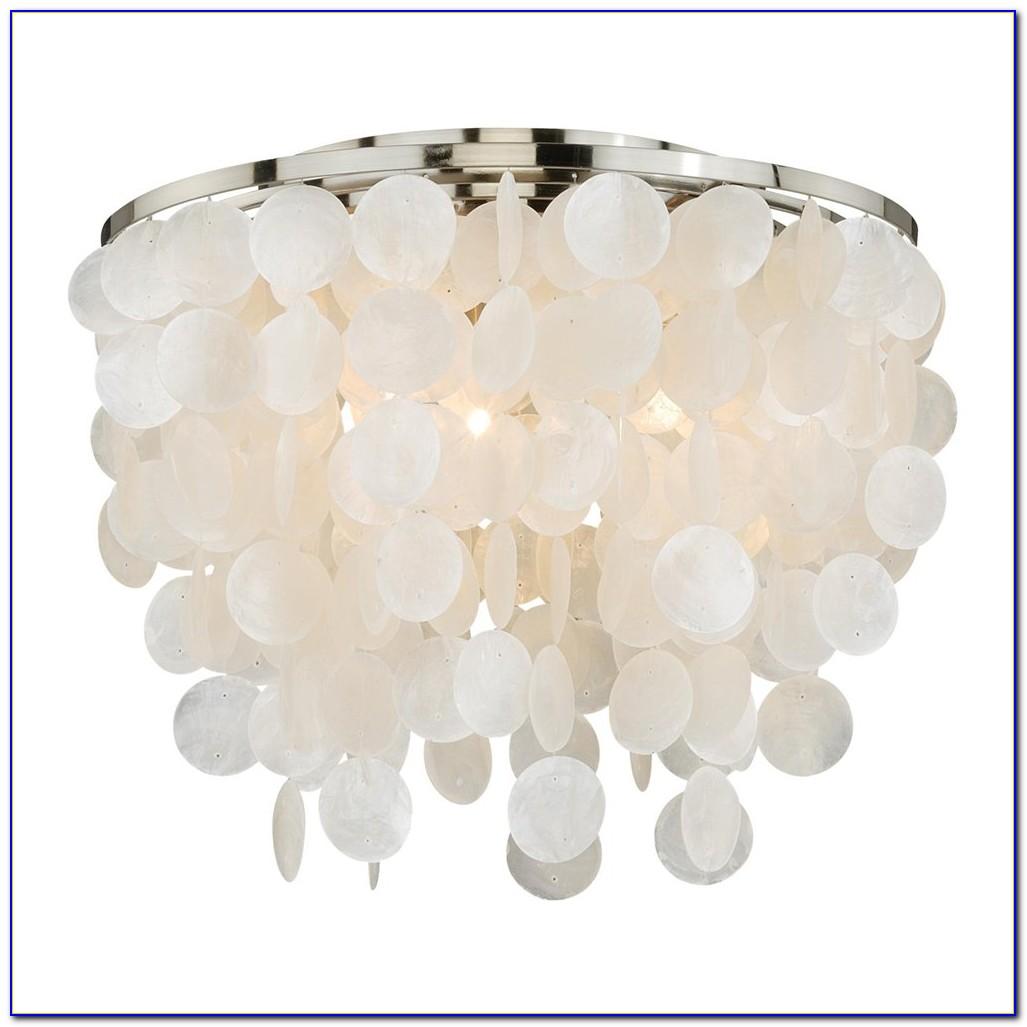Capiz Shell Ceiling Lamp