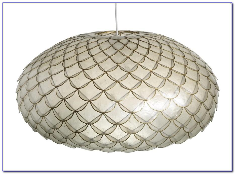 Capiz Shell Ceiling Light Uk