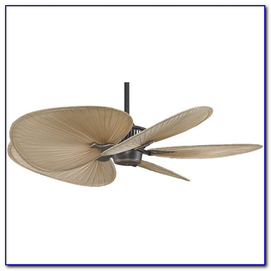 Ceiling Fan Blades Palm Leaf
